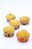 Muffin banana cup cake Royalty Free Stock Photos