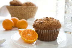 Muffin Breakfast Stock Photography