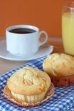 Muffin breakfast Royalty Free Stock Photos