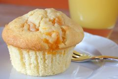 Muffin breakfast Royalty Free Stock Images