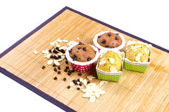 Muffin cake breakfast Royalty Free Stock Images