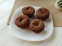 Muffin cake stock photo