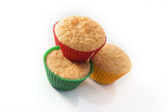 Muffin cakes Stock Images