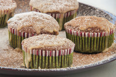 Muffin cakes with chocolate Stock Photography