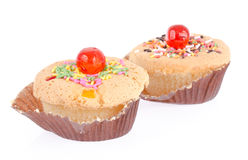 Muffin cakes Royalty Free Stock Photo