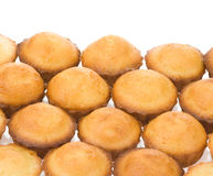 Muffin cakes on white Royalty Free Stock Images