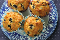 Muffin casalinghi Fotografia Stock Libera da Diritti