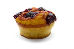 Muffin with cherry Stock Photo