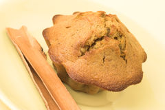 Muffin with cinnamon Stock Image
