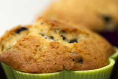 Muffin closeup Royalty Free Stock Images