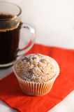 Muffin and coffee Royalty Free Stock Photography