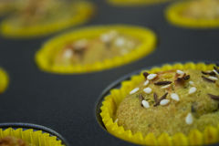 Muffin cupcake Stock Afbeeldingen