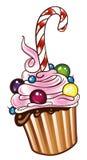 Muffin, cupcake Stock Image