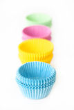 Muffin Cups/Cupcake Cups Royalty Free Stock Images