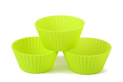 Muffin cups Stock Photography