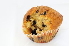 Muffin da banana Imagem de Stock Royalty Free