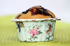 Muffin de blueberry Imagens de Stock