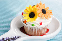 Muffin decorated Stock Photos
