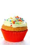 muffin dekorerat stänksocker Royaltyfria Bilder