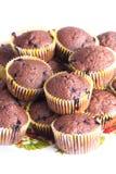 Muffin del cioccolato Immagini Stock