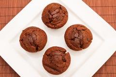 Muffin del cioccolato Immagini Stock Libere da Diritti