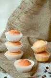 Muffin del formaggio Fotografia Stock Libera da Diritti