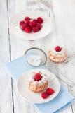 Muffin del lampone Fotografie Stock