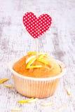 Muffin del limone Fotografia Stock Libera da Diritti
