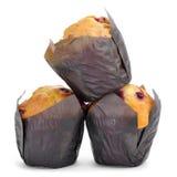 Muffin del ribes fotografia stock libera da diritti