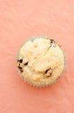 Muffin delizioso dell'uva passa Immagini Stock