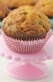Muffin della banana Fotografia Stock