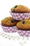 Muffin della banana del mirtillo Immagine Stock