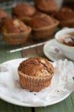 Muffin della cannella della vaniglia Fotografia Stock Libera da Diritti