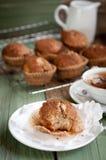 Muffin della cannella della vaniglia Fotografie Stock Libere da Diritti