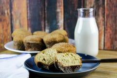 Muffin della ciambella del sidro di Apple Immagini Stock
