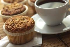 Muffin della nocciola fotografia stock