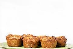 Muffin della noce e dello zucchero di palma Immagine Stock Libera da Diritti