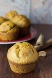 Muffin della zucca Immagine Stock Libera da Diritti