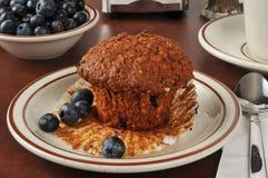 Muffin di crusca sano Fotografia Stock