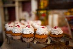 Muffin di nozze Immagine Stock Libera da Diritti
