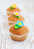 Muffin dolci immagini stock libere da diritti
