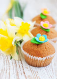 Muffin dolci fotografie stock