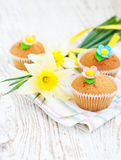 Muffin dolci immagini stock