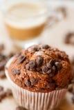 Muffin e café Fotos de Stock