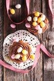 muffin easter Royaltyfri Foto
