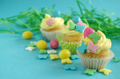 muffin easter Arkivfoton