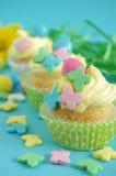 muffin easter Royaltyfri Fotografi