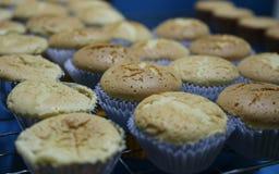 Muffin, efter du bakas royaltyfri foto