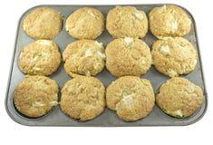 Muffin in einer Form stockfoto