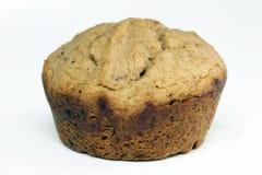 Muffin för bananbrödkortkort Royaltyfri Fotografi